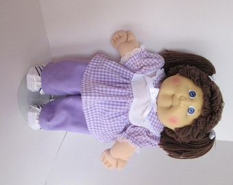 "16"" Girl Cabbage Patch Lavender Pant Set"