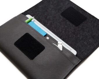 iPad mini case, iPad mini 2 case, iPad mini 4 case. tablet business case. eReader Travel Case