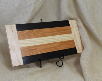 Cheese or Sushi Board Hardwood Ash, Cherry and Wenge