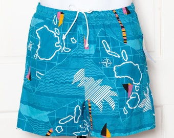 Vintage 80s 90s Swimming Trunks (vintage new) - CAMPUS - 32 - 34 M