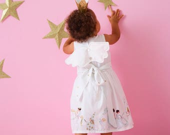 Girls Magical Parade Party dress with wings
