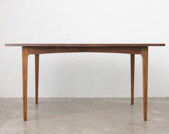 Mid Century Broyhill Wood Dining Table