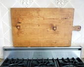 Large Cutting Board, Bread Board, Rectangular Butcher Block, Serving Tray, Rustic Kitchen, French Decor