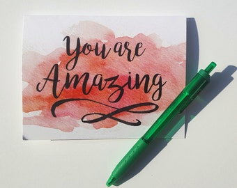 You are Amazing Thank You Card with Matching Envelope