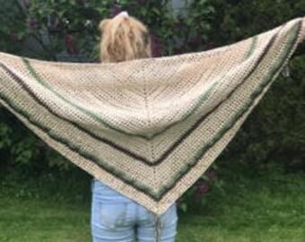 Spring/Summer Cotton Scarf, shawl or wrap