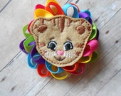 Daniel Tiger Loopy Flower Hair Bow