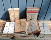 Distressed Book Set - Vintage Book Collection - No cover books - Vintage Book Bundle
