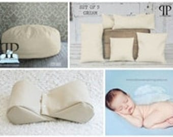 Starter Set #16 ~ Studio Posey Pillow, Squishy Poser & Set of 5 Posey positioners. Newborn photo props by Posey Pillow