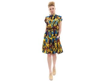 Lucca dress,  Camouflage print,  Dress With Drawstring Waist , Sporty dress, Everyday dress, Loose dress, sleeveless