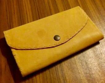 Vintage Deerskin Leather Wallet