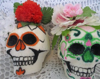 50% off - spring cleaning - Day of the Dead Sugar skulls - your pick