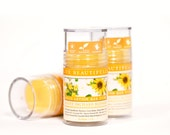 Sunny Orchard Blossom Lotion Bar - Sweet Apple and Orange Blossoms - All Natural Lotion Tube