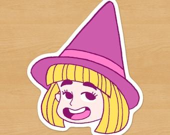 Happy Witch Sticker