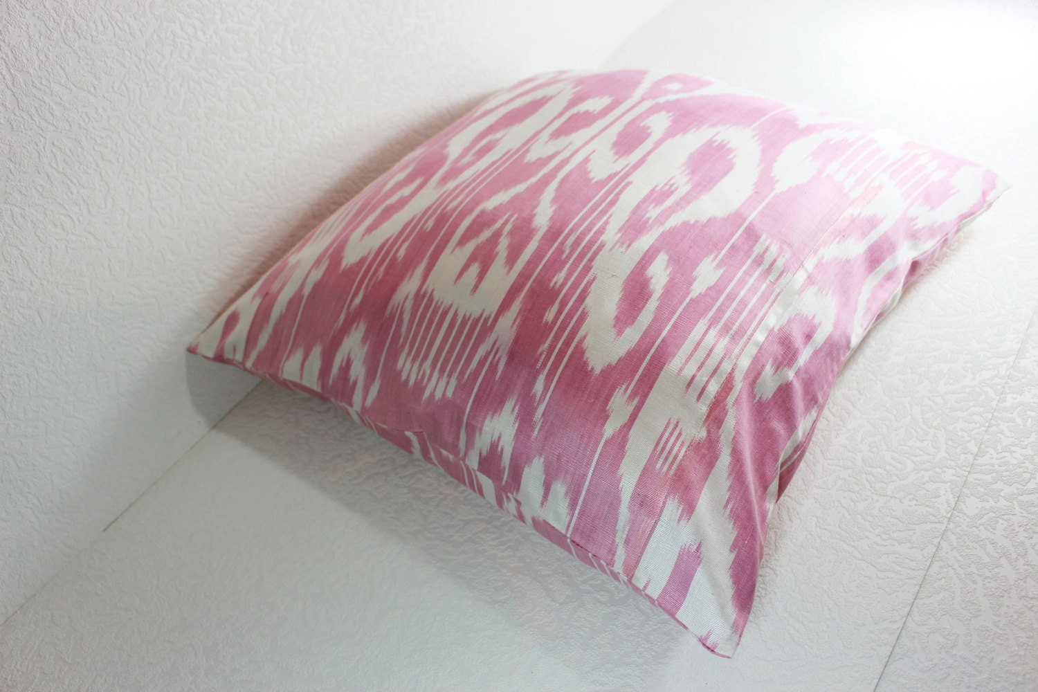 Handmade Ikat Throw Pillows : Ikat Pillow, Handmade Ikat Pillow Cover S114, Ikat throw pillows, Designer pillows, Decorative ...