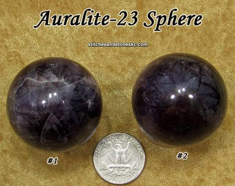 Auralite sphere for crystal healing and meditation Auralite-23