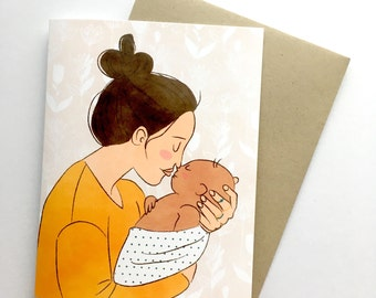 Congratulations New Mother | A2 Card