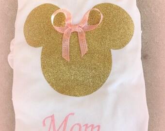 Best Price! Ships Fast! Birthday Disney World Personalized Family Disney Mom Dad Mickey Shirt Disney World Disneyland Cruise Fantasy