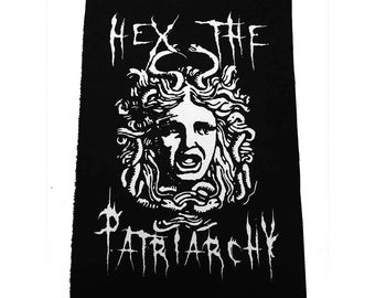 Hex the Patriarchy Back patch