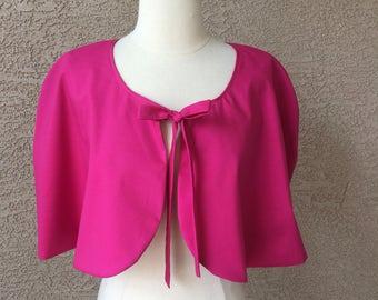 Capelet Hot Pink