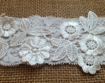 Ivory Lace Wedding Garter