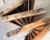Antique Wood Shutters Architectural Salvage House Shutters Window Shutters Louvered