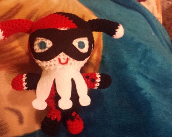 Crocheted Harleen Quinzel