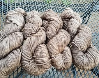 Pecan Brown   -Swish DK  - Hand Dyed