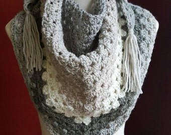 The Granny Wrap in Cookies and Cream - Ready to Ship
