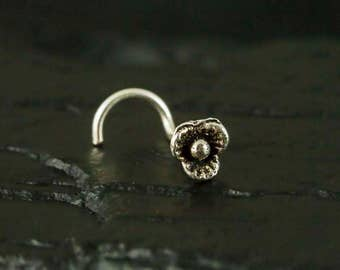 Floral nose screw/nose stud/nose ring