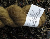 Lemon Balm Natural Dyed Kettle Sock Yarn Fingering Weight