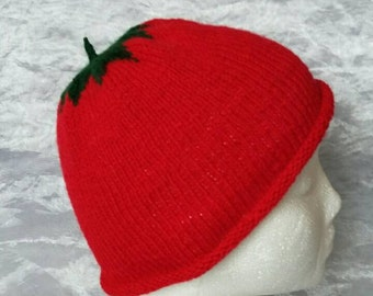 Kid's Tomato Hat- Ages 3/4 and up