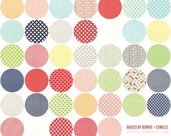 Bonnie and Camille - Basics - Half Yard Bundle - BSBHYB - 40 Prints