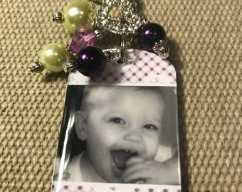 Mother's Day Photo Key Chain, personalized gift for Mom, grandma, aunt, nana - Place your order by May 4th