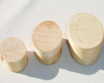 Miniature Nesting Boxes for Crafting - Set of 3