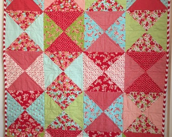 Little Ruby Flannel Quilt