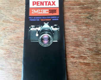 Pentax ME Super Instruction Manual, 1987