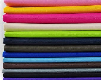 One Yard Oxford fabric Thickness 600D PVC Oxford Cloth Fabric, coating and other processing, a texture of light, soft waterproof- (QT1154)