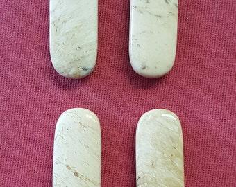 Alunite from Quartzsite,Arizona  Beads ABM1C