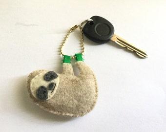 Sloth key chain