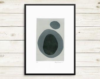 Small art prints, small home decor, small grey wall art, small original art, grey wall art, grey art prints, small art print set, art prints