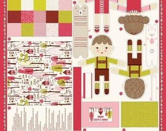 Just Another Walk in the Woods by Stacy Iset Hsu for Moda Fabrics - Hansel & Gretel Doll Project Panel