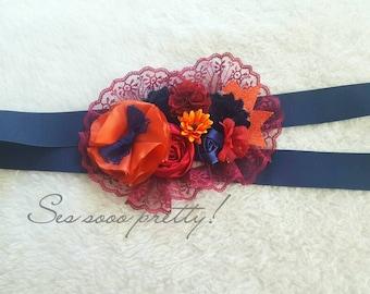 Flower shash/belt sash