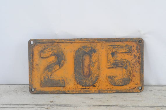 Like this item? : antique number plates - pezcame.com