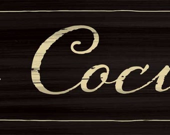 La Cocina Kitchen Sign, Wood Spanish Kitchen decor, Spanish kitchen sign, 4 colors and 2 sizes available