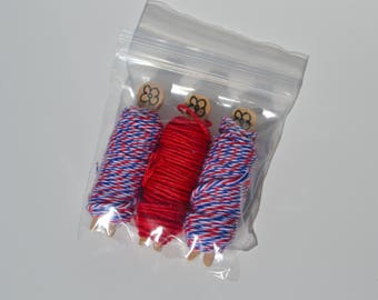 30 Yards Colorful Bakers Twine
