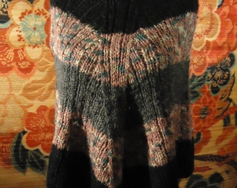 Vintage Sweater Poncho
