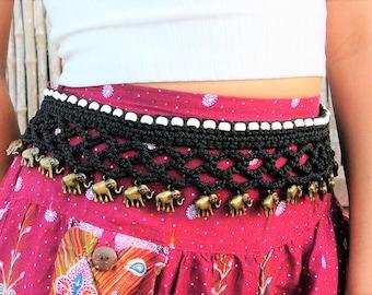 Best selling items , hippie gift for women, boho summer jewelry, elephant beach jewelry belts, handmade gifts items, PIYOYO