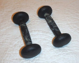 Bell Foundry Cast Iron Dumbbells