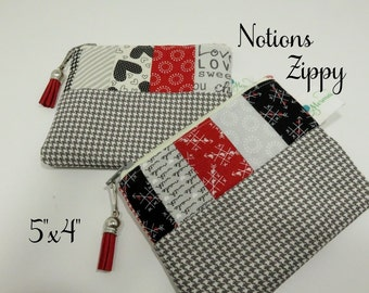 FREE SHIPPING - Valentine Notions Pouch