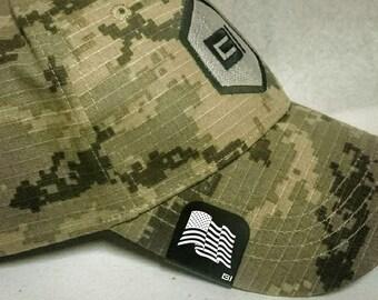 Brim-It Hat Clip- Wavy American Flag